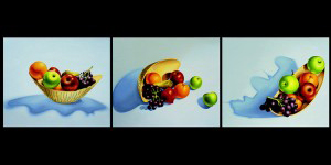 Still Life. 2001, 54 x 65 cm each, oil on canvas.